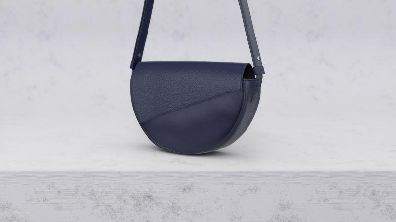 3D bag visual, 3D Configurator, 3D leather bag, Photorealistic 3d leather goods, Camille Fournet